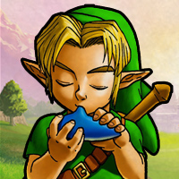 Ocarina player